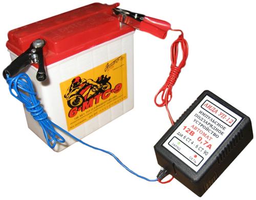 зарядка автомобильного аккумулятора - Схемы.