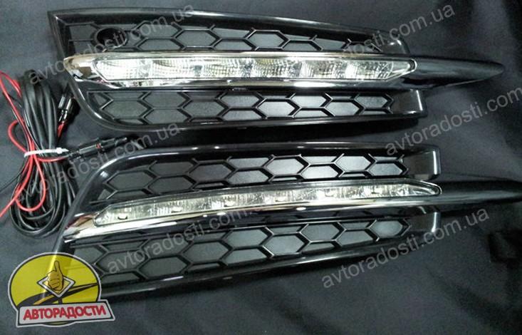 Фото LED-DRL Дневные ходовые огни для Chevrolet Cruze '09- (LED-DRL). Галерея товаров WWW.AVTORADOSTI.COM.UA