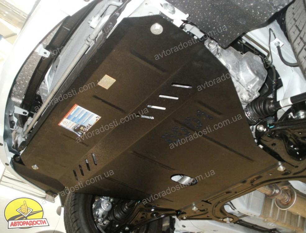 Защита двигателя шевроле авео т250 фото