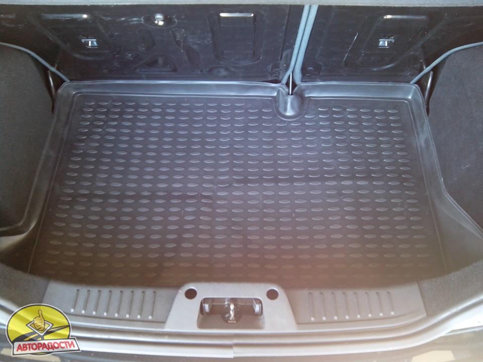 Фото Novline <b>Коврик</b> в багажник для Ford Fiesta &#39;09 ...