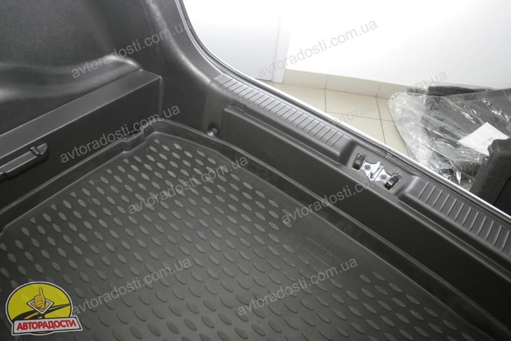Фото Novline <b>Коврик</b> в багажник для Kia Venga &#39;10- (нижний ...