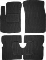 Коврики в салон для Chevrolet Aveo '04-11 текстильные, темно-серые (Корона)