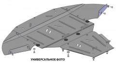 Кольчуга Защита змеевика для MAN TGS 21.440 4х2 '13-, V-все (Кольчуга)