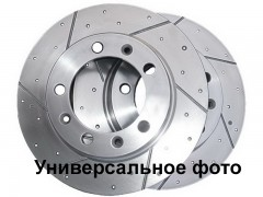 Комплект передних тормозных дисков ABE C30535ABE (2 шт.)