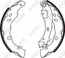 Тормозные колодки задние ABE C0C020ABE, барабанные