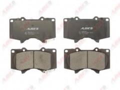Тормозные колодки передние ABE C12111ABE, дисковые
