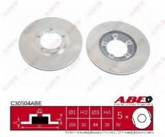 Комплект передних тормозных дисков ABE C30504ABE (2 шт.)