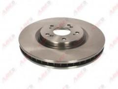 Комплект передних тормозных дисков ABE C34060ABE (2 шт.)