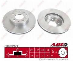 Комплект передних тормозных дисков ABE C3C032ABE (2 шт.)