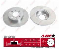 Комплект тормозных дисков ABE C3F014ABE (2 шт.)
