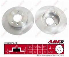 Комплект передних тормозных дисков ABE C3R002ABE (2 шт.)