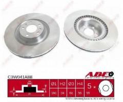 Комплект передних тормозных дисков ABE C3W041ABE (2 шт.)