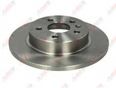 Комплект задних тормозных дисков ABE C40014ABE (2 шт.)