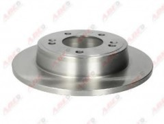 Комплект задних тормозных дисков ABE C40514ABE (2 шт.)