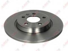 Комплект задних тормозных дисков ABE C4A025ABE (2 шт.)