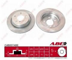 Комплект задних тормозных дисков ABE C4B007ABE (2 шт.)