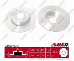 Комплект задних тормозных дисков ABE C4B027ABE (2 шт.)