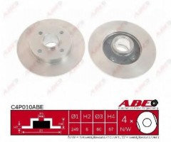 Комплект задних тормозных дисков ABE C4P010ABE (2 шт.)