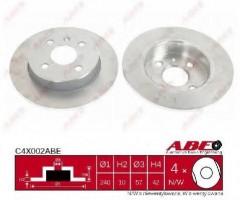 Комплект тормозных дисков ABE C4X002ABE (2 шт.)