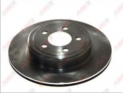 Комплект задних тормозных дисков ABE C4Y008ABE (2 шт.)