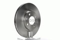 Комплект тормозных дисков BOSCH 0 986 478 124 (2 шт.)