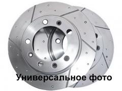 Комплект тормозных дисков BOSCH 0 986 AB6 099 (2 шт.)