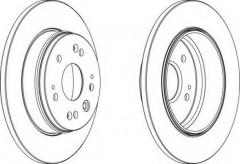 Комплект задних тормозных дисков FERODO DDF1540 (2 шт.)