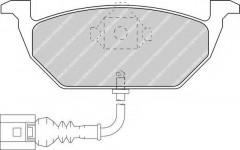 Тормозные колодки передние FERODO FDB1398, дисковые