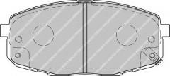Тормозные колодки передние FERODO FDB1869, дисковые
