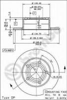 Комплект тормозных дисков BREMBO 08.5743.14 (2 шт.)