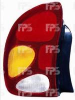 Фонарь задний для Daewoo Lanos / Sens '98- седан левый (DEPO)