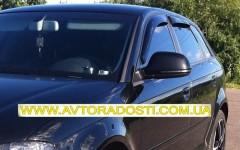 EGR Дефлекторы окон для Audi A3 '04-12, хетчбек, 5дв. (EGR)