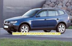 EGR Дефлекторы окон для BMW X3 E83 '03-09 (EGR)