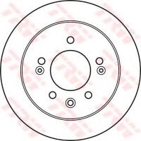 Комплект тормозных дисков TRW DF4923 (2 шт.)