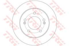 Комплект тормозных дисков TRW DF6144 (2 шт.)