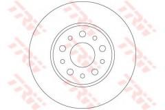 Комплект тормозных дисков TRW DF6228 (2 шт.)