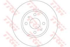 Комплект тормозных дисков TRW DF6231 (2 шт.)