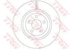 Комплект тормозных дисков TRW DF6244S (2 шт.)