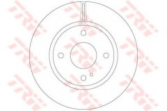 Комплект тормозных дисков TRW DF6399 (2 шт.)