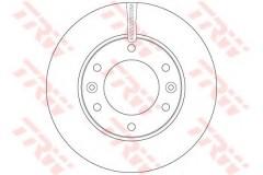 Комплект тормозных дисков TRW DF6446 (2 шт.)