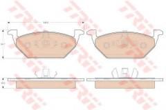 Тормозные колодки TRW GDB1984, дисковые