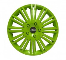Колпаки на колеса Jacky R13 DISCOVERY GREEN (J-tec)