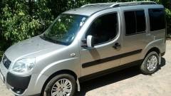 Рейлинги для Fiat Doblo '01-09, кор. база, хром (crown-дизайн)