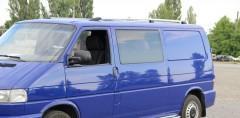 Рейлинги для Volkswagen Transporter T4 '90-03, кор. база, хром (пласт. концевик)