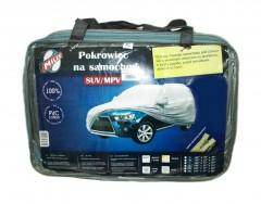 Тент автомобильный Milex JEEP PEVA+PP Cotton М серый (+ зеркало и замок)