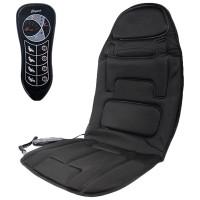 Накидка на сиденье с подогревом Elegant EL 100 581 черная 12V 10W
