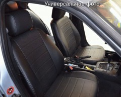 Авточехлы из экокожи S-LINE для салона Volkswagen Passat B6/B7 '05-14, универсал (AVTO-MANIA)