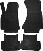 Коврики в салон для Audi A5 '09- Sportback резиновые, черные (AVTO-Gumm)