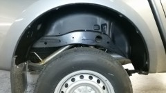 Подкрылок задний правый для Mitsubishi L200 '16- (Novline)