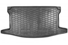 Коврик в багажник для Toyota Yaris '15-, резиновый, верхний (AVTO-Gumm)